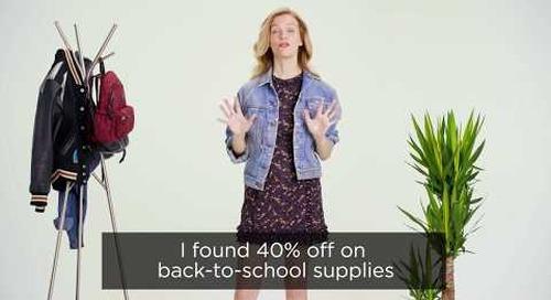 Test Your School Supply #Dealbrag Knowledge With Brooklyn Decker