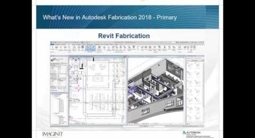 What's New in Autodesk Fabrication Tools 2018