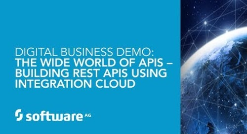 Demo The Wide World of APIs – Building REST APIs Using Integration Cloud