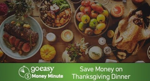 MoneyMinute - How to Save on Thanksgiving Dinner