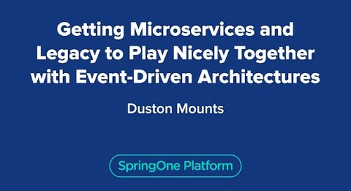 Getting Microservices and Legacy to Play Nicely Together