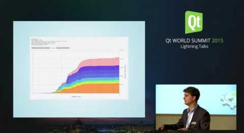 QtWS15- Lightning talk- Heaptrack, A Heap Memory Profiler for Linux, Milan Wolf, KDAB