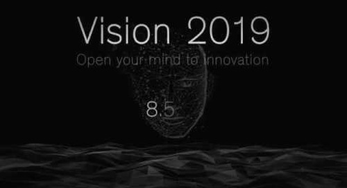 Vision 2019 - Open your mind to innovation