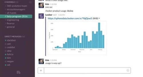 Slack Your Data with the Lookerbot