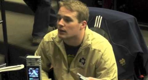 ND's Joe Schmidt - Spring Practice Day 1