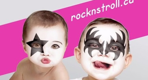 KISS visits newborns at Mount Sinai Hospital in support of Rock N' Stroll