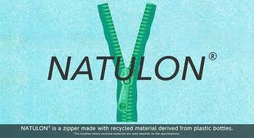 YKK NATULON® Mechanically Recycled Zippers - short version