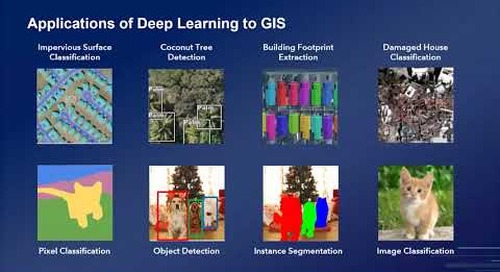 Using Deep Learning with Imagery in ArcGIS