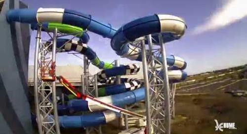 Splash Aqua Park and Leisure Centre: Waterslides Timelapse
