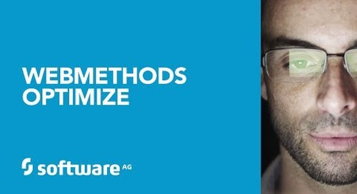 Improve your business with webMethods Optimize