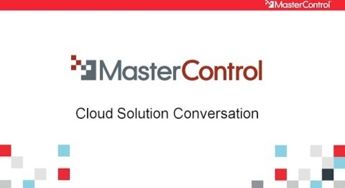 MasterControl Cloud Solution - A Conversation With Vic and Curt