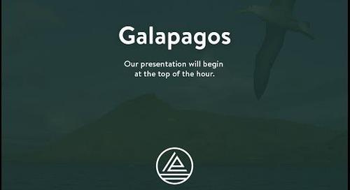 Webinar: Galapagos Islands