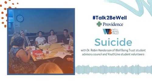 Talk2BeWell: Suicide