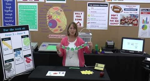 End-of-Year Lesson Plan Idea - Classroom Paper Chain