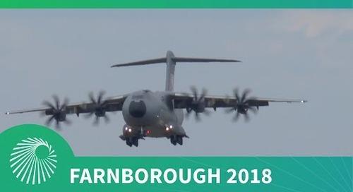 Farnborough 2018: Airbus A400M Atlas flying display