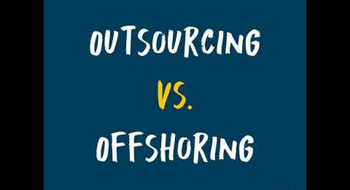 Outsourcing vs Offshoring | FAO 101