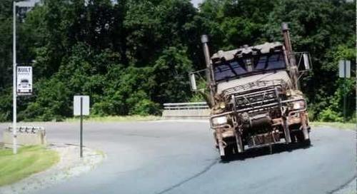 MACK® Granite™ military truck  in Transformers 3