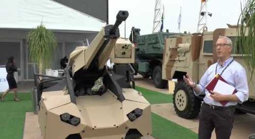 AAD 2016: TRT-R30 Tactical Remote Turret