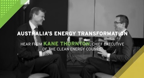 Dr Alex Wonhas Interviews Kane Thorton on the proposed National Energy Guarantee - Highlights
