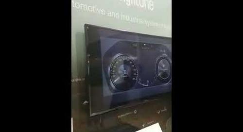 IVI Gesture Control by brightONE using Qt Automotive Suite