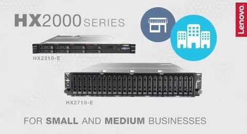 Lenovo HX Series Converged Appliance Product Video (short version)