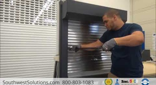 Roll-Up Window Security Shutters with Break-In Resistance