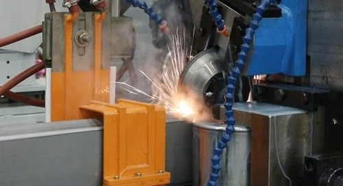 Samco Machinery Step Beam Rollformer with Continuous Inline HF Welder