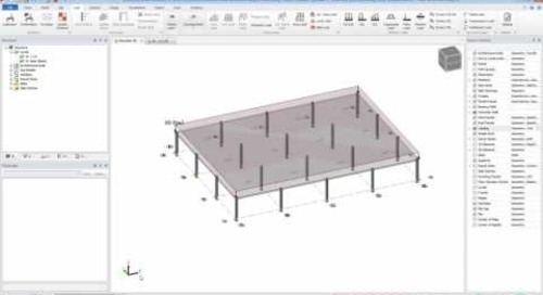 Tekla Structural Designer Allows you to Check for Punching Shear in your Structural Flat Slabs