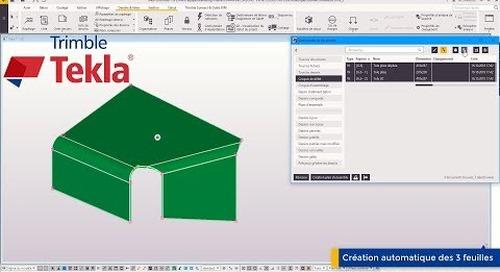 Astuce Tekla Structures : Croquis - Numéro de feuille