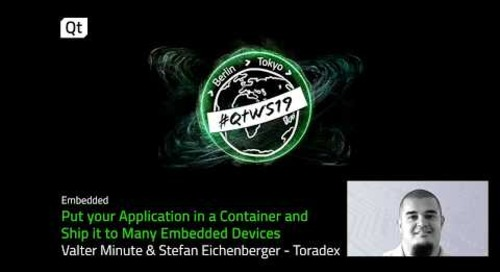 Using containers for cross platform application development with Qt