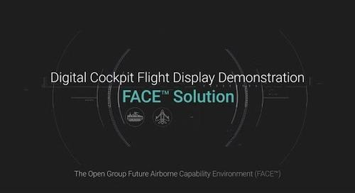 Digital Cockpit Flight Display Demonstration