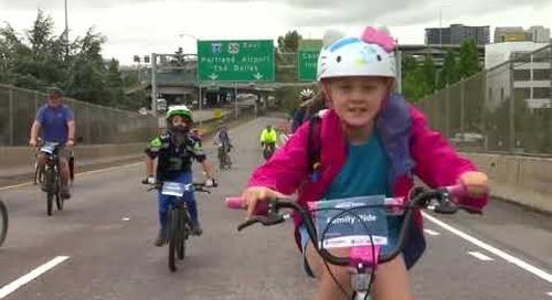 KPTV Health Watch 8/2/21 Providence Bridge Pedal and BOB Program