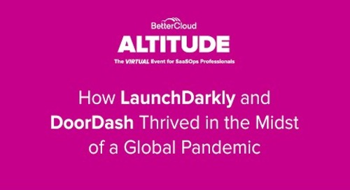[ALTITUDE20 Customer Spotlight] How LaunchDarkly &DoorDash Thrived in the Midst of a Global Pandemic