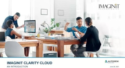 Introducing IMAGINiT Clarity Cloud a Fully Hosted Automation Platform