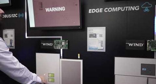 IIoT Edge Computing Architecture with Wind River Linux
