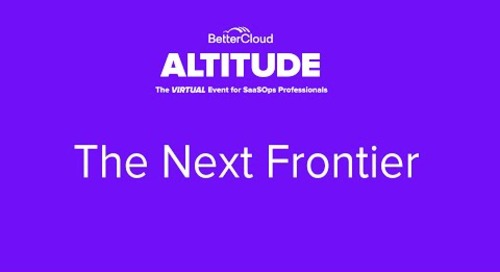 [ALTITUDE20 Keynote] The Next Frontier