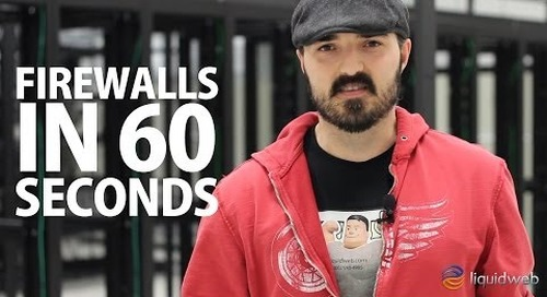 Firewalls Explained in 60 Seconds - For secure web hosting