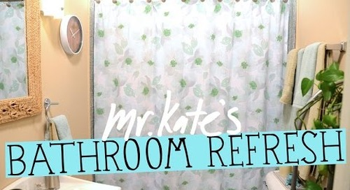 Easy Does It: Bathroom Refresh! | Home Decorating | Mr Kate