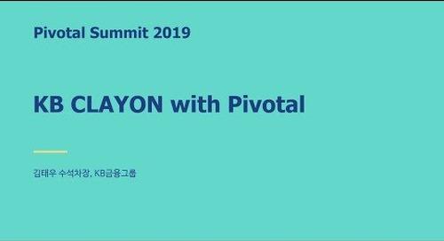 서울 - KB CLAYON with Pivotal - KB금융그룹 김태우 수석차장