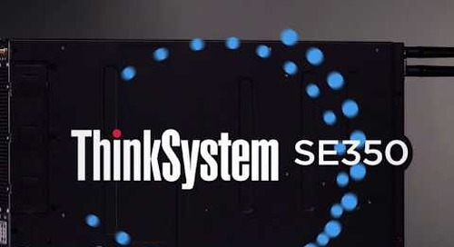 Lenovo ThinkSystem SE350 Edge Server Highlights Video
