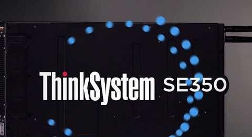 Lenovo ThinkSystem SE350 Edge Server Highlights Video