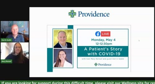 A COVID19 Patient's Story