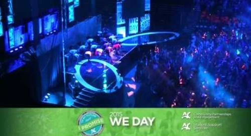 Algonquin College - We Day 2015
