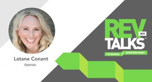 Calling BS on ABM – It's Just Good Marketing | Latane Conant at REVTalks 2019