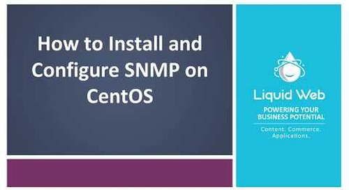 How To Install and Configure SNMP on CentOS