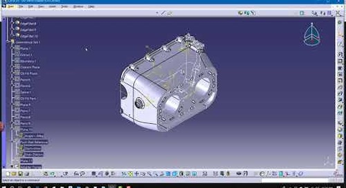 Keyboard shortcuts for CATIA