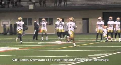 Video: ND Spring Practice Day 1 Highlights