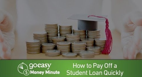 MoneyMinute - How to Pay Off Student Debt Quickly