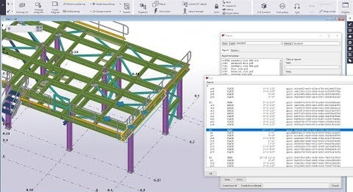 Types of Reports in Tekla Structures