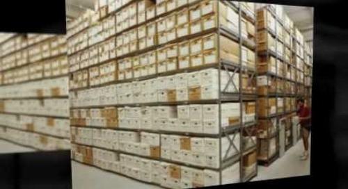 Record Box Storage Shelving & Racks Info@SouthwestSolutions.com